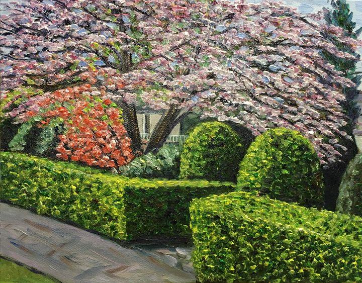 Spring View-Veterans Park - Richard Nowak Fine Art