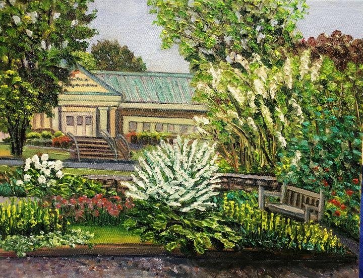 Grandmother's Garden-Early Summer - Richard Nowak Fine Art