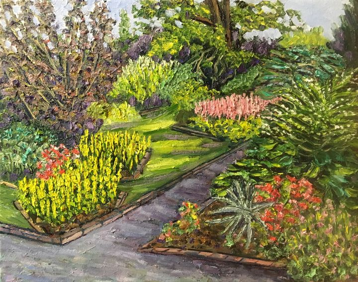 Longest Day, Grandmother's Garden - Richard Nowak Fine Art