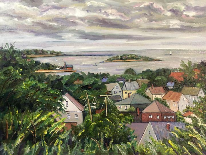 View from Fisherman's Park, Gloucest - Richard Nowak Fine Art
