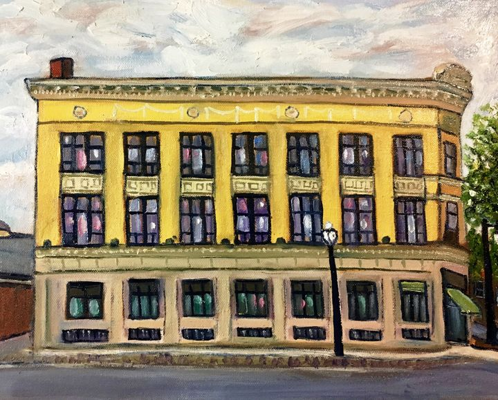 Grand Old Lady, Gillette Building - Richard Nowak Fine Art