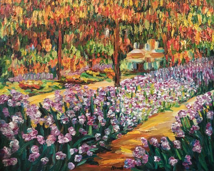 Monet's Garden Path - Richard Nowak Fine Art