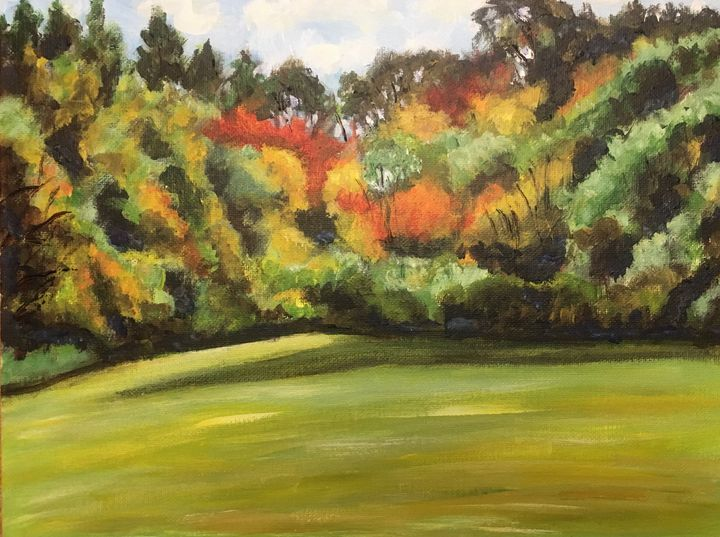 Autumn Colors in Chauncey Allen Park - Richard Nowak Fine Art