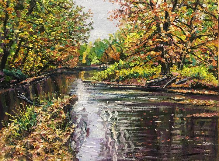 Little River Autumn View - Richard Nowak Fine Art