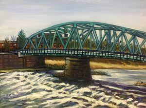 Westfield Green Bridge with Rapids