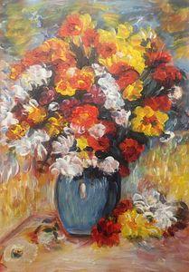 Money's Vase of Flowers