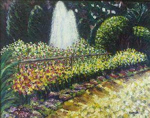 Stanley Park Water Fountain - Richard Nowak Fine Art