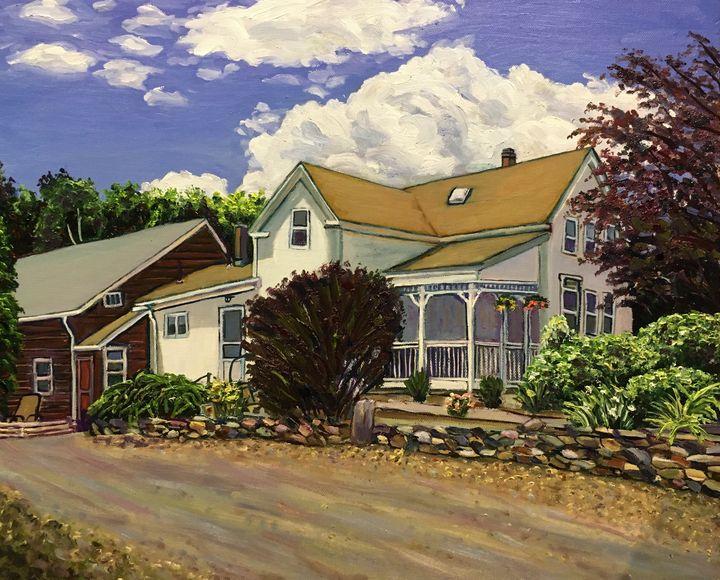 Wyben Orchards Homestead - Richard Nowak Fine Art
