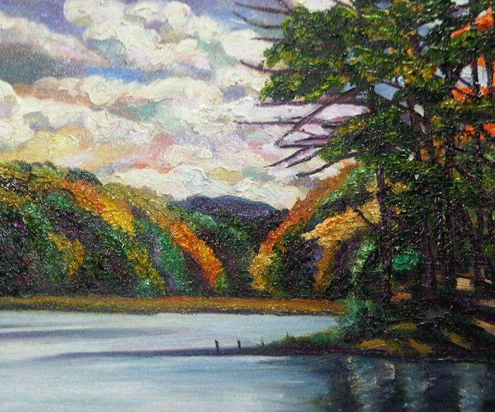 Autumn Colors at Bray Lake - Richard Nowak Fine Art