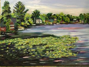 Waterlilies At Hampton Ponds