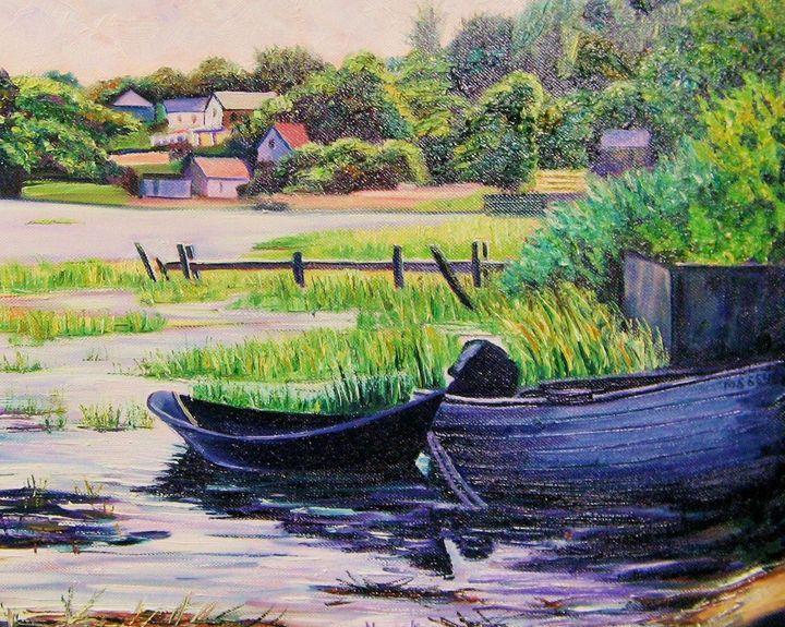 Cape Cod Boats at Rest - Richard Nowak Fine Art