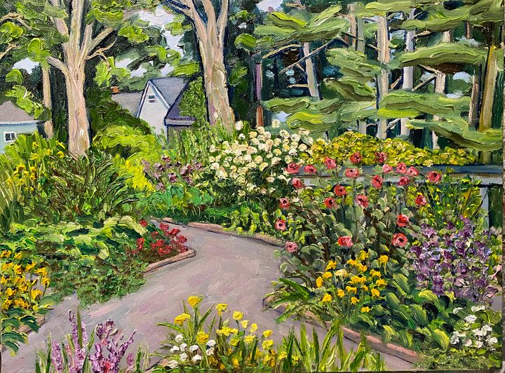 Garden Majesty 11 - Richard Nowak Fine Art