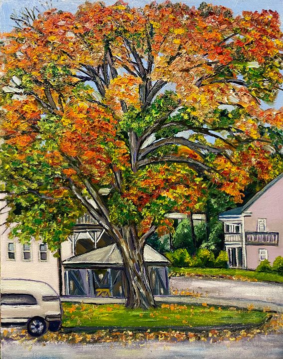 Frederick Street Autumn - Richard Nowak Fine Art