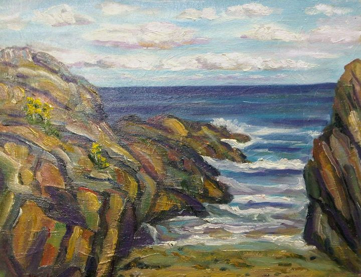 Maine Cove - Richard Nowak Fine Art