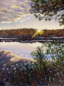 Quabbin Sunset