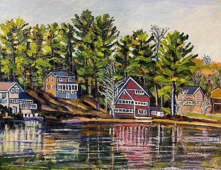 Hampton Ponds Homes - Richard Nowak Fine Art