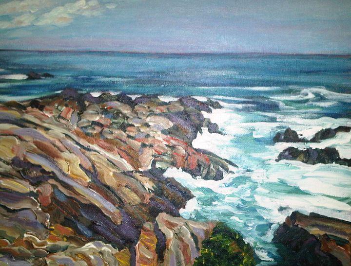 Coast of Maine - Richard Nowak Fine Art