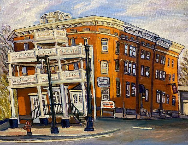 Former Bismark Hotel - Richard Nowak Fine Art