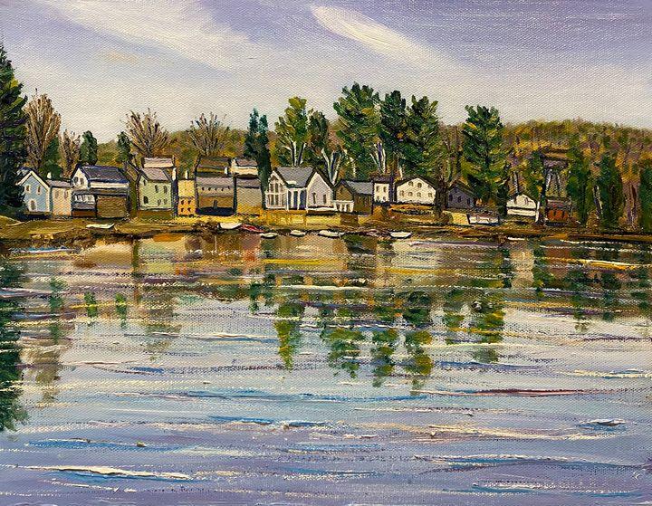 Hampton Ponds Serenity - Richard Nowak Fine Art