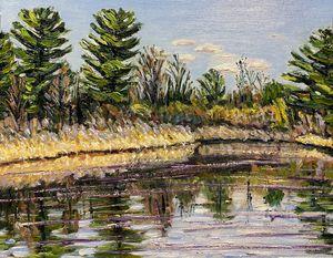 Hampton Ponds April Afternoon