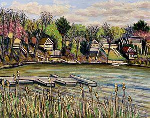 Congamond Lakes, April View