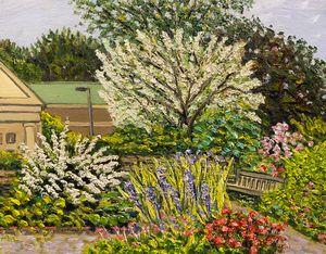 Spring Blossoms,Grandmother's Garden