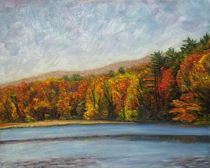Bray Lake Autumn - Richard Nowak Fine Art