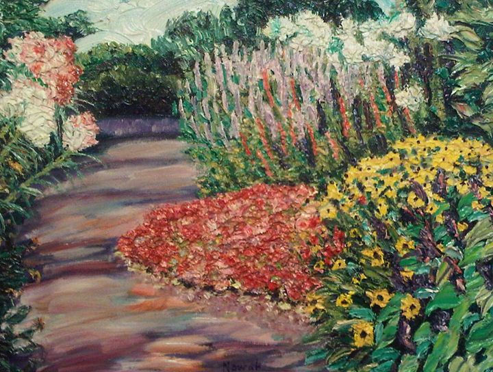Amelia Park Garden - Richard Nowak Fine Art