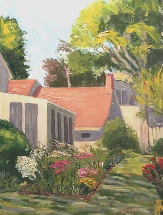 Backyard Garden - Richard Nowak Fine Art