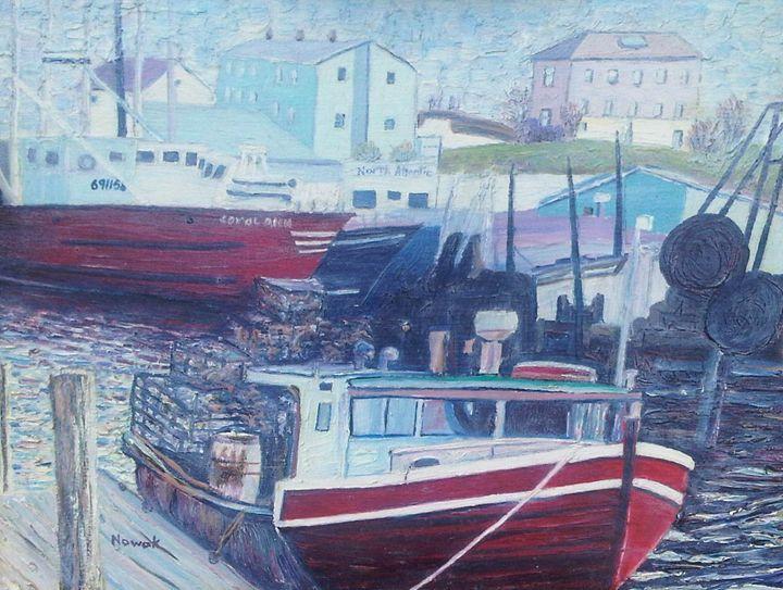 Red Boat - Richard Nowak Fine Art