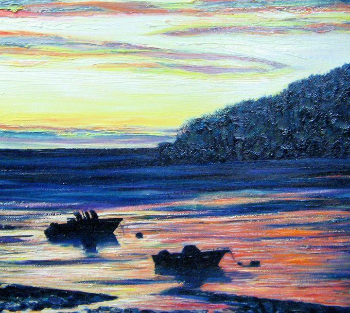 Maine Sunset - Richard Nowak Fine Art