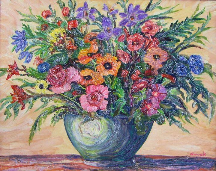 Vase of Flowers - Richard Nowak Fine Art
