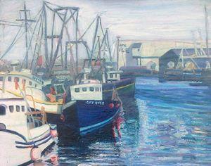 Blue Boat - Richard Nowak Fine Art