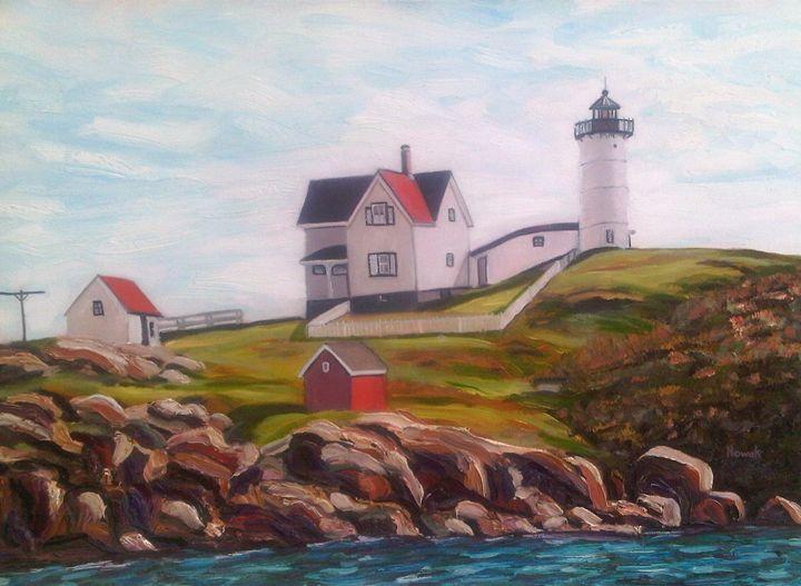 Nubble Lighthouse - Richard Nowak Fine Art