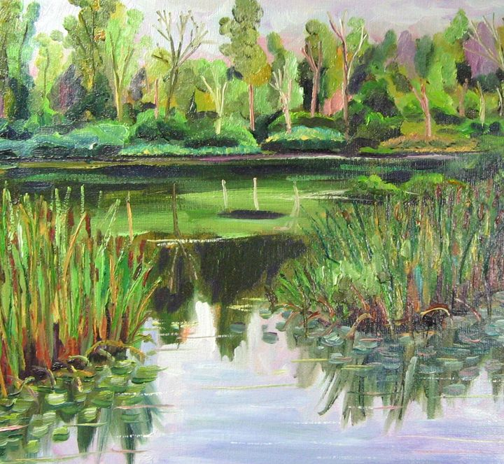 New England Pond - Richard Nowak Fine Art