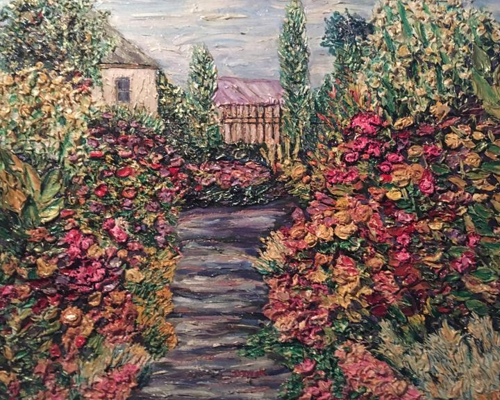 Amelia Park Garden Flowers - Richard Nowak Fine Art
