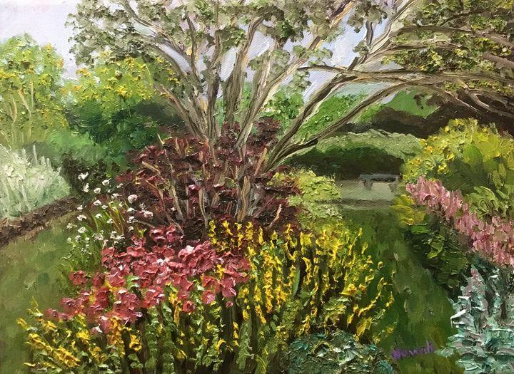 Flowers at Grandmother's Garden - Richard Nowak Fine Art