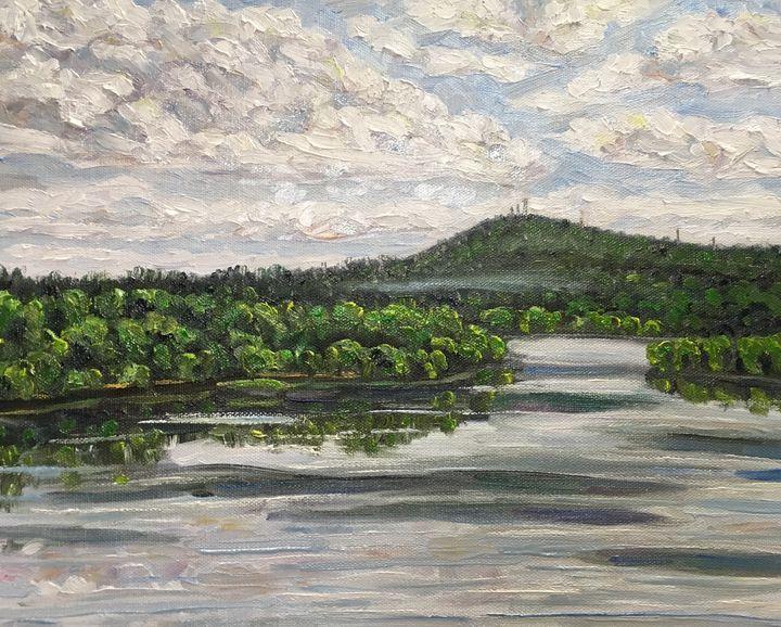 View of Mt. Tom - Richard Nowak Fine Art