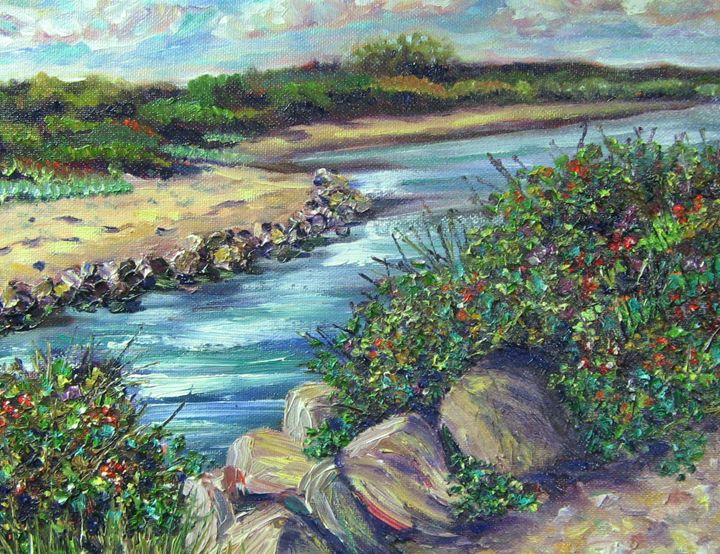 Along the Shore - Richard Nowak Fine Art