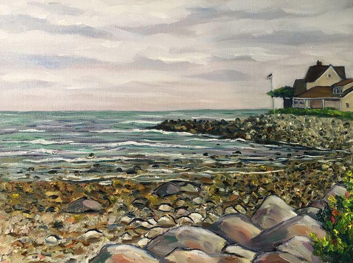 Wells, Maine Coastline - Richard Nowak Fine Art