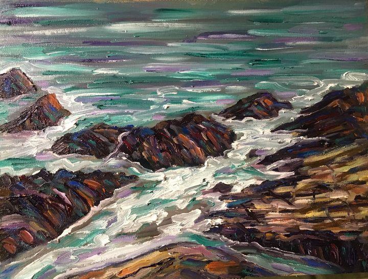 Along the Marginal Way - Richard Nowak Fine Art