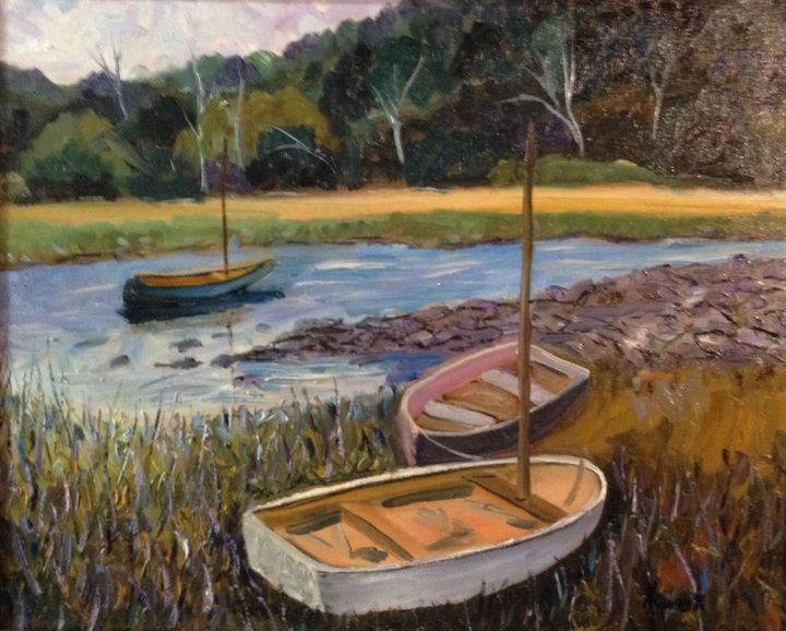 Maine Boats at Rest! - Richard Nowak Fine Art
