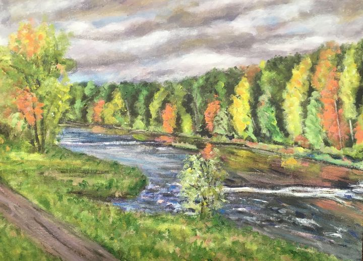 Approaching Storm, Westfield River - Richard Nowak Fine Art