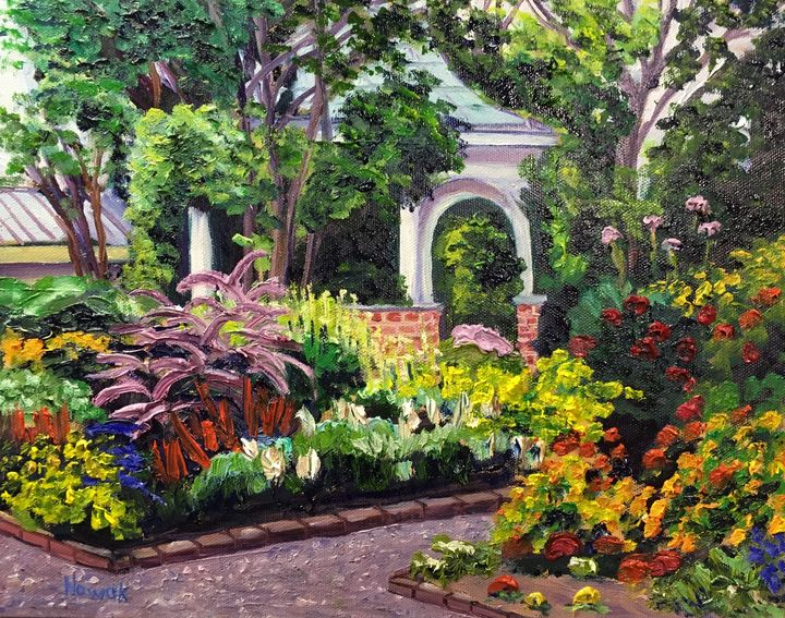 Grandmother S Garden Summer Flowers Richard Nowak Fine Art