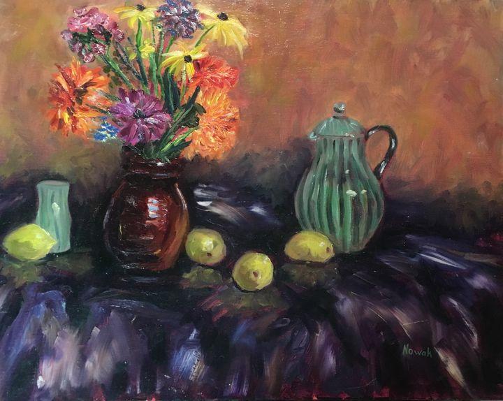 Flowers Still Life - Richard Nowak Fine Art