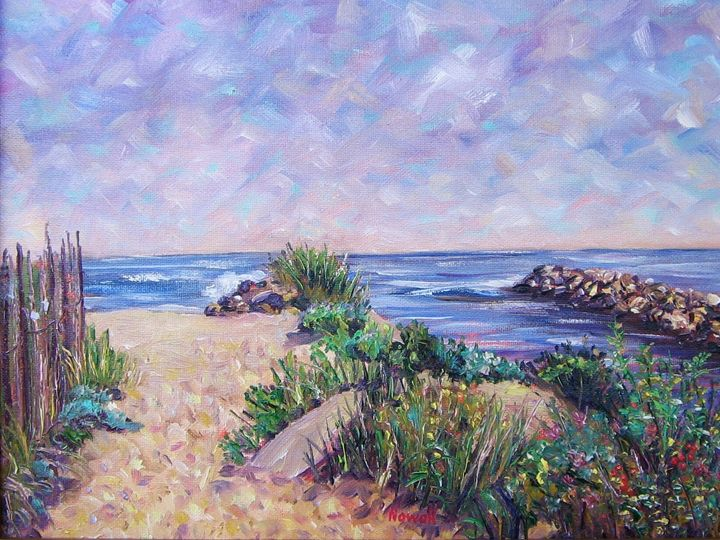 On the Beach! - Richard Nowak Fine Art