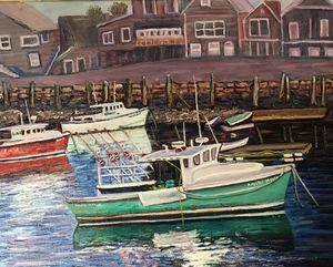 Green Boat, Rockport, MA