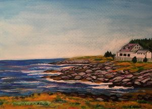 Monhegan Island Coast, Maine
