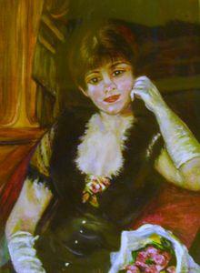 Renoir's Lady