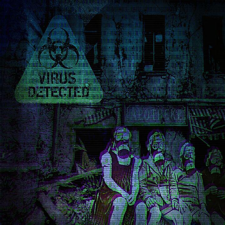 Virus detected - Patricia Maitland's cover art